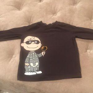 Hanna Andersson Charlie Brown Halloween Shirt